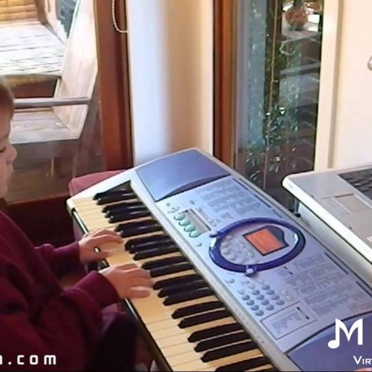 Piano Video: Online Piano Lesson #40 - Old MacDonald