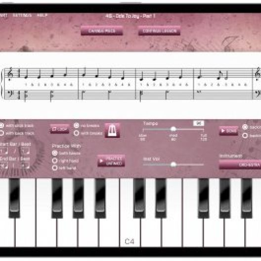 What is the difference between Piano Lessons and Keyboard