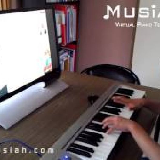 Piano Video: Online Piano Lesson #122 - Bluesin' Around