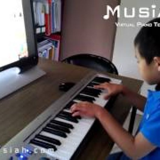 Piano Video: Online Piano Lesson #119 - Sarabande