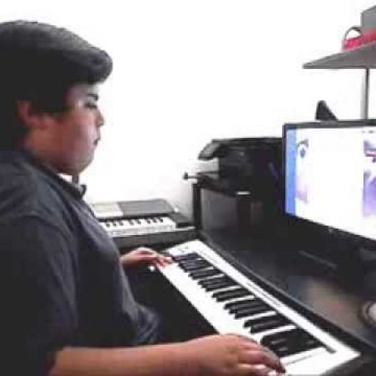 Piano Video: Online Piano Lesson #129 The Happy Birthday Swing